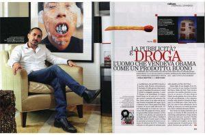Bill Magazine in anteprima sul Venerdì di Repubblica, 5 ottbre 2012