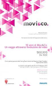 Vernissage Movi&Co 19 febbraio 2013