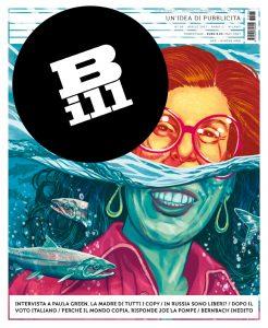 copertina Bill Magazine numero 6 2013
